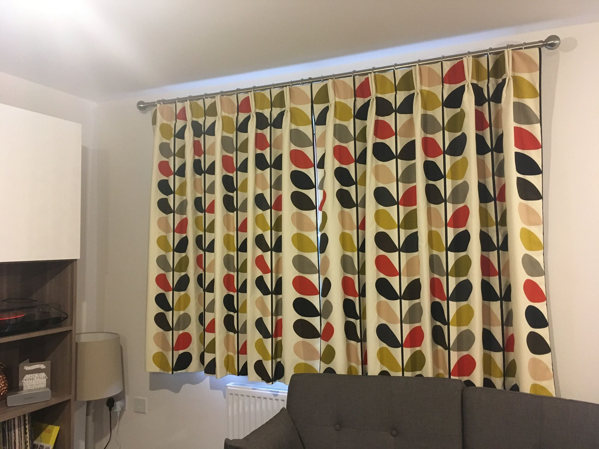 Another cool fabric from orla kiely love the retro style and iuve
