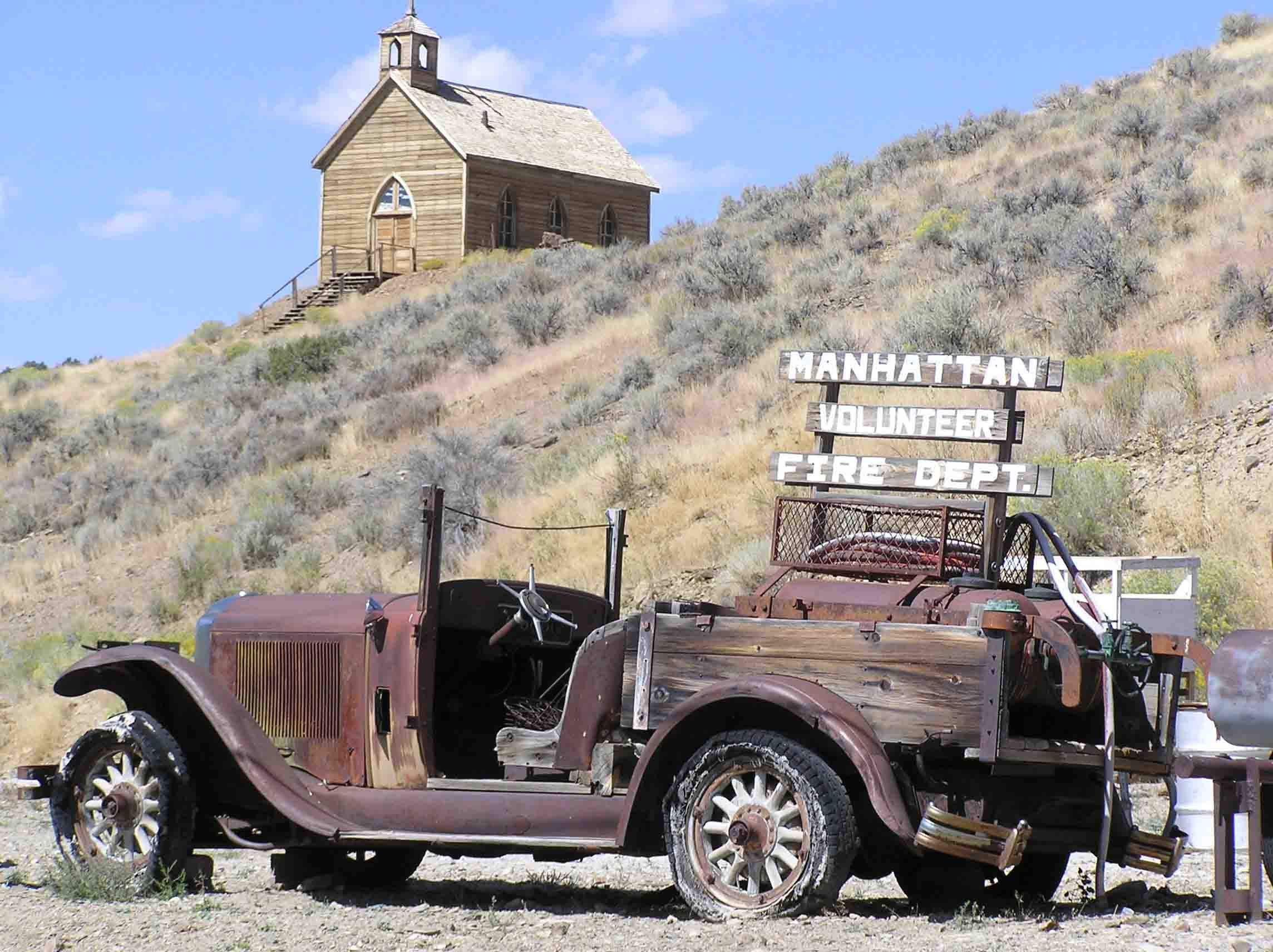 Ghost Towns In Nevada | Manhattan Nevada Ghost town