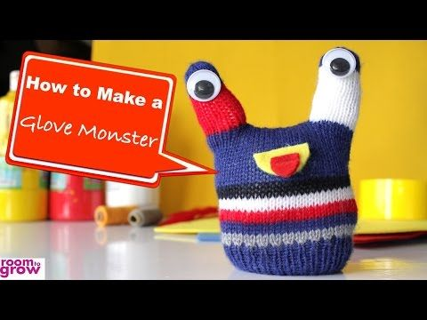 How-to Make a Glove Monster - YouTube