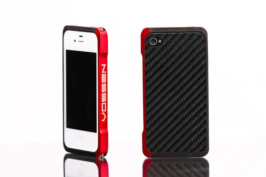 Vossen Store - Red Aluminum iPhone 4 Case  169d8f35be3b6