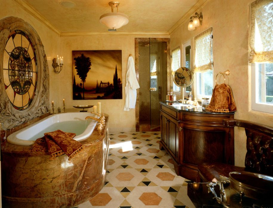 english country bathroom google search - Country Bathrooms Designs