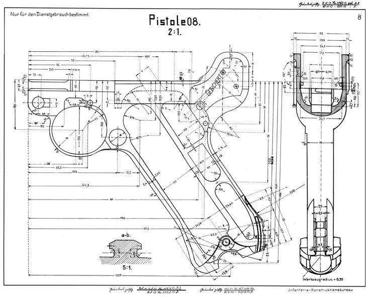 resultado de imagem para 3d models of weapons  blueprints
