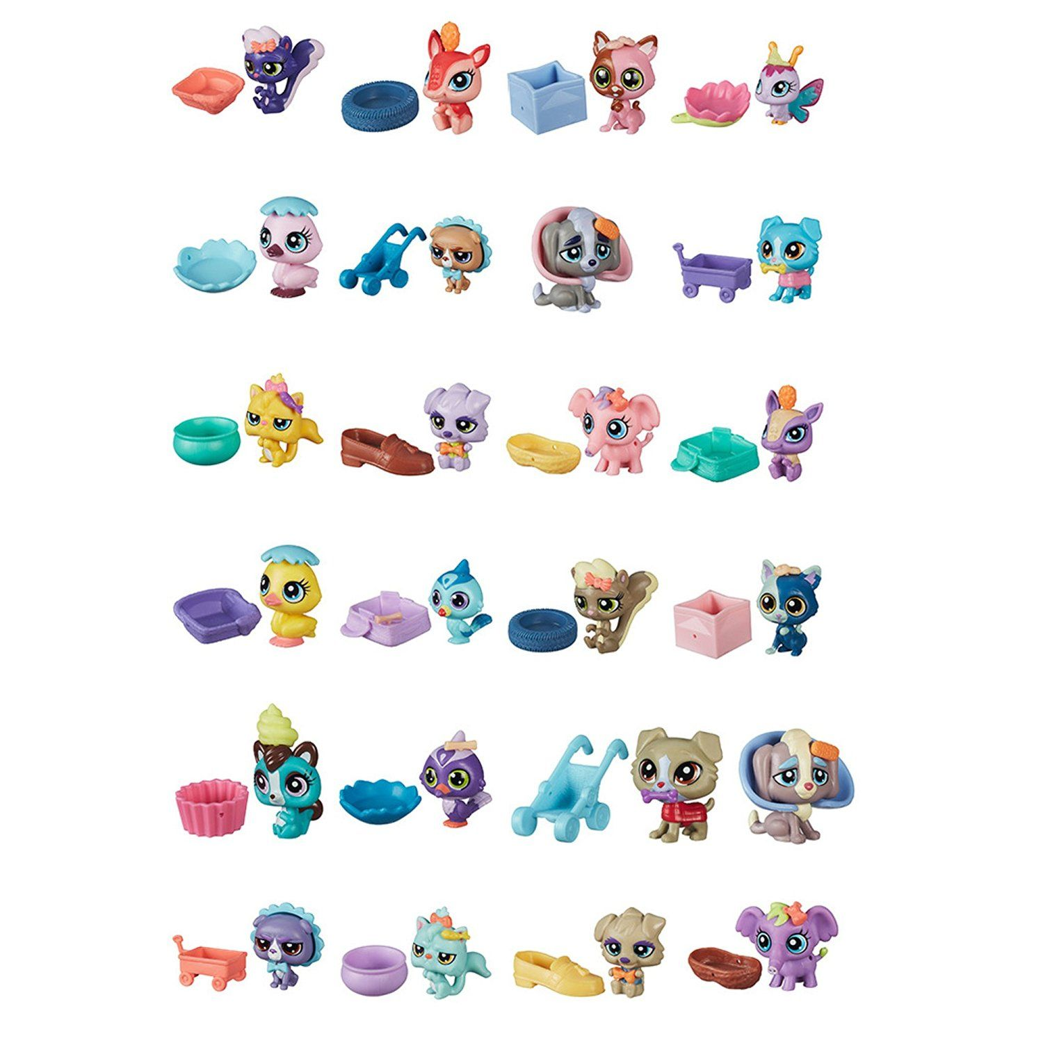 Amazon Com Littlest Pet Shop Mystery Bag Series 1 Toys Games Pet Shop Littlest Pet Shop Little Pets