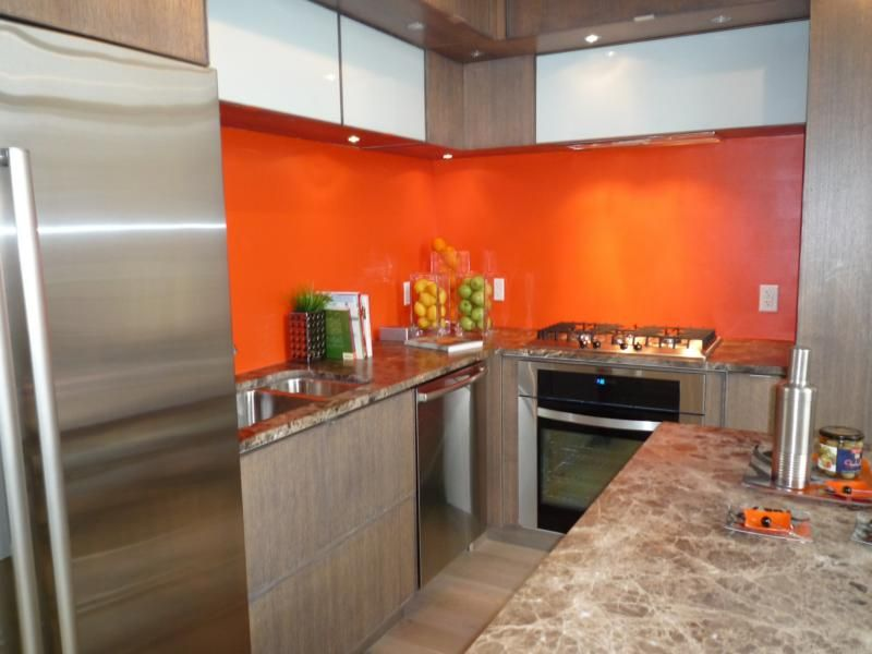 orange kitchen ideas modern orange tile for kitchen backsplash orange kitchen 14459