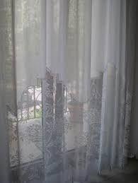 Resultado de imagen de tende lino e uncinetto per cucina ...