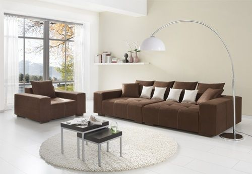 Fabric And Corner Sofas For Your Bright Living Room Luxury Living Room Decor Decor Accents Living Room Brown Sofa Living Room