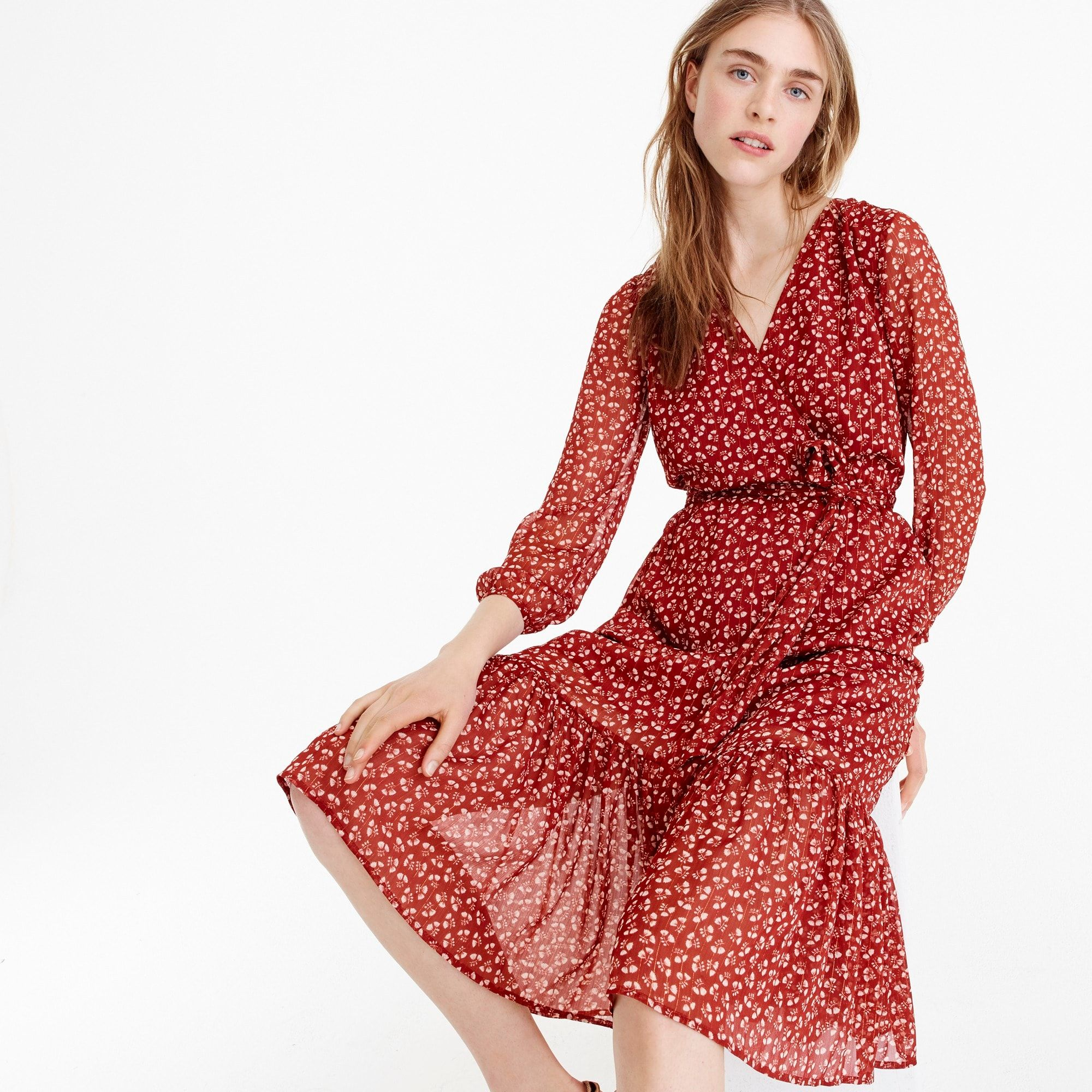 Shopstyle Collective Introducing Point Sur Inspired By Our Original Collection Of L A Made Denim It Casual Dresses For Women Wrap Dress Floral Womens Dresses [ 2000 x 2000 Pixel ]