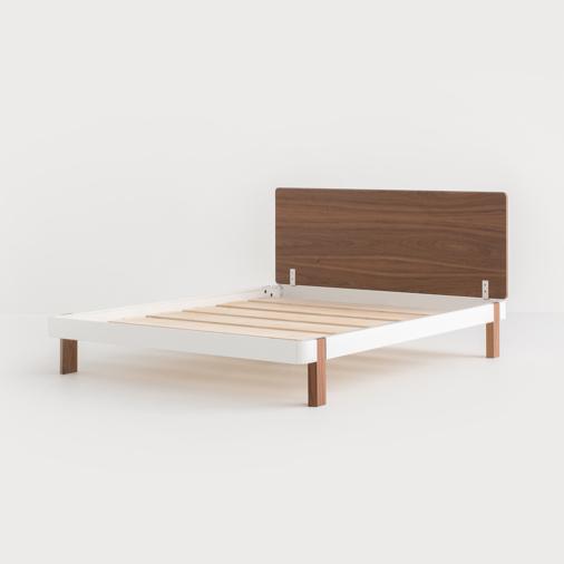 Contrast Platform Bed in 2020 Platform bed designs