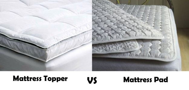difference between mattress pad and topper What Is The Difference Between Mattress Topper And Mattress Pad  difference between mattress pad and topper