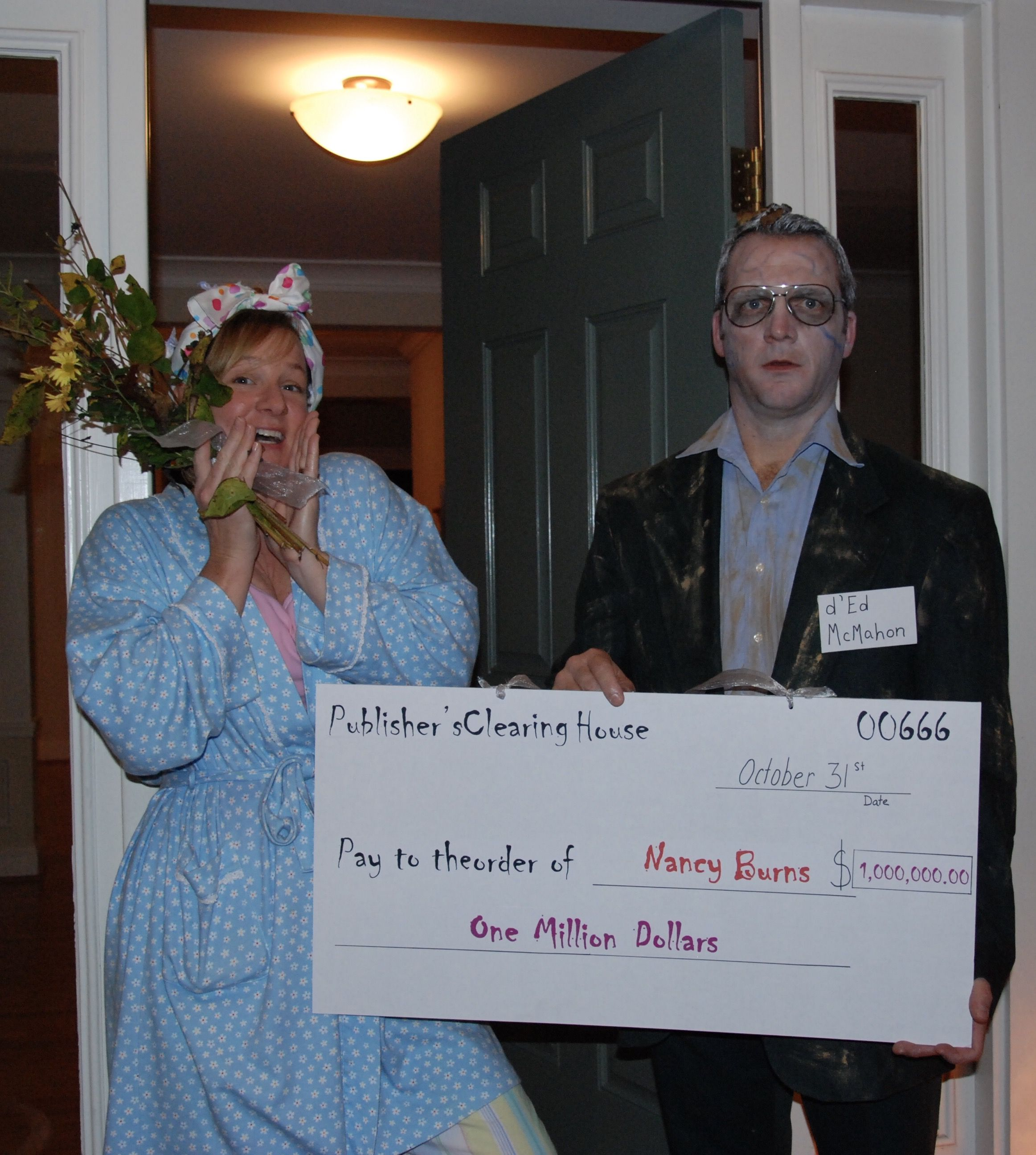 D'Ed McMahon/Publishers Clearing House  RIP Ed McMahon! | Halloween