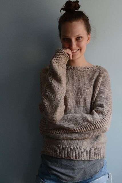 eda96241afc20b Ravelry  themenagerie s Flax Sweater