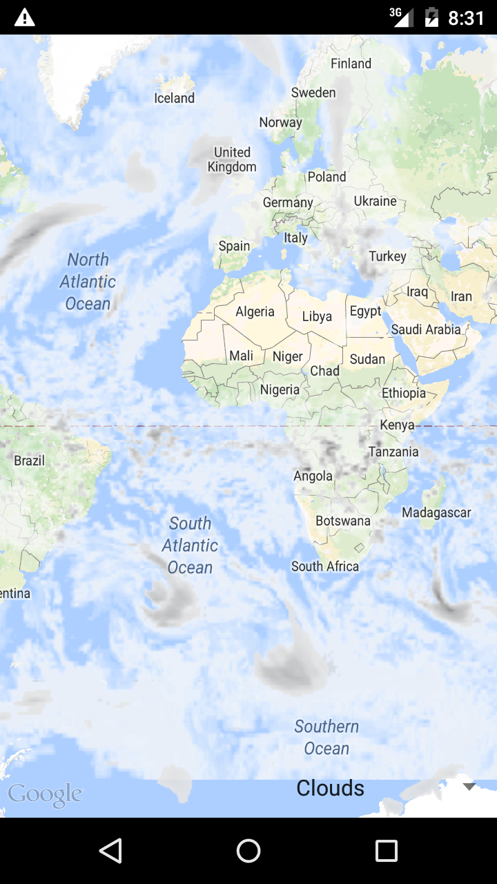 Tutorial about adding weather layer on google map in android