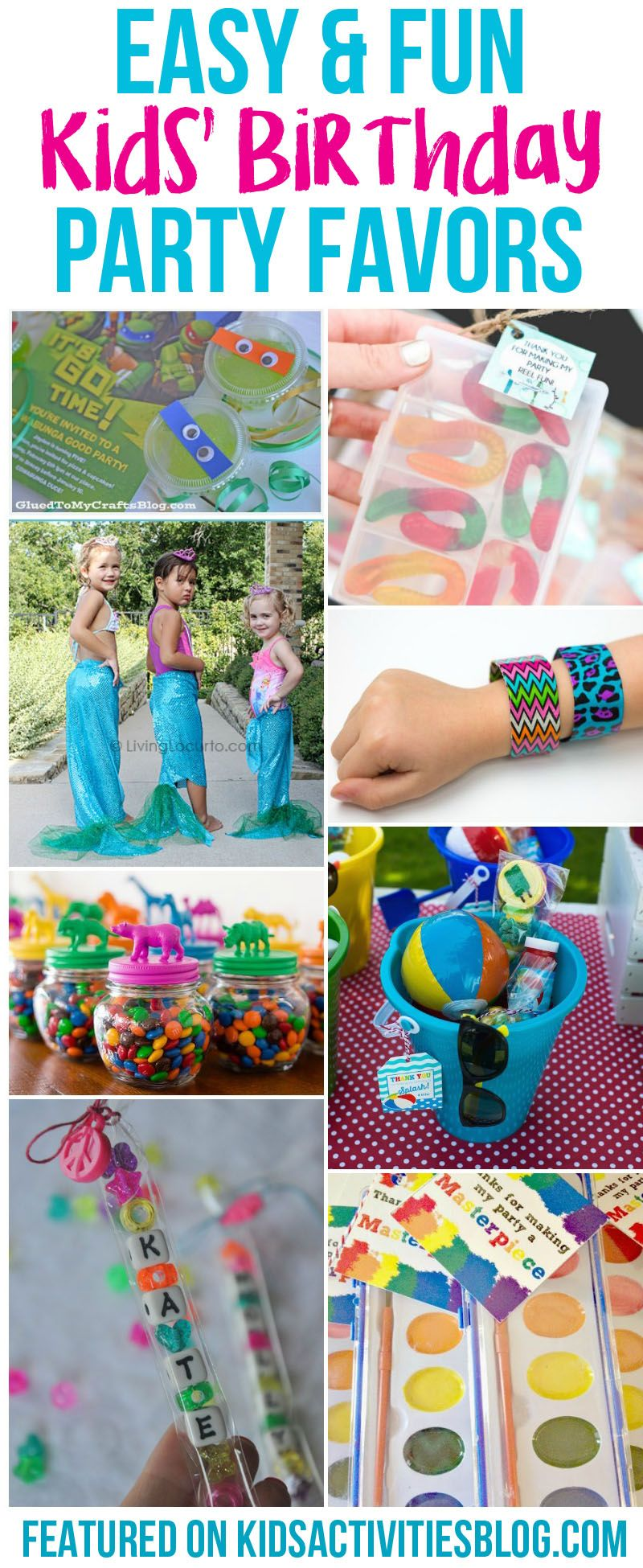 birthday party favors that won t get thrown in the trash favours
