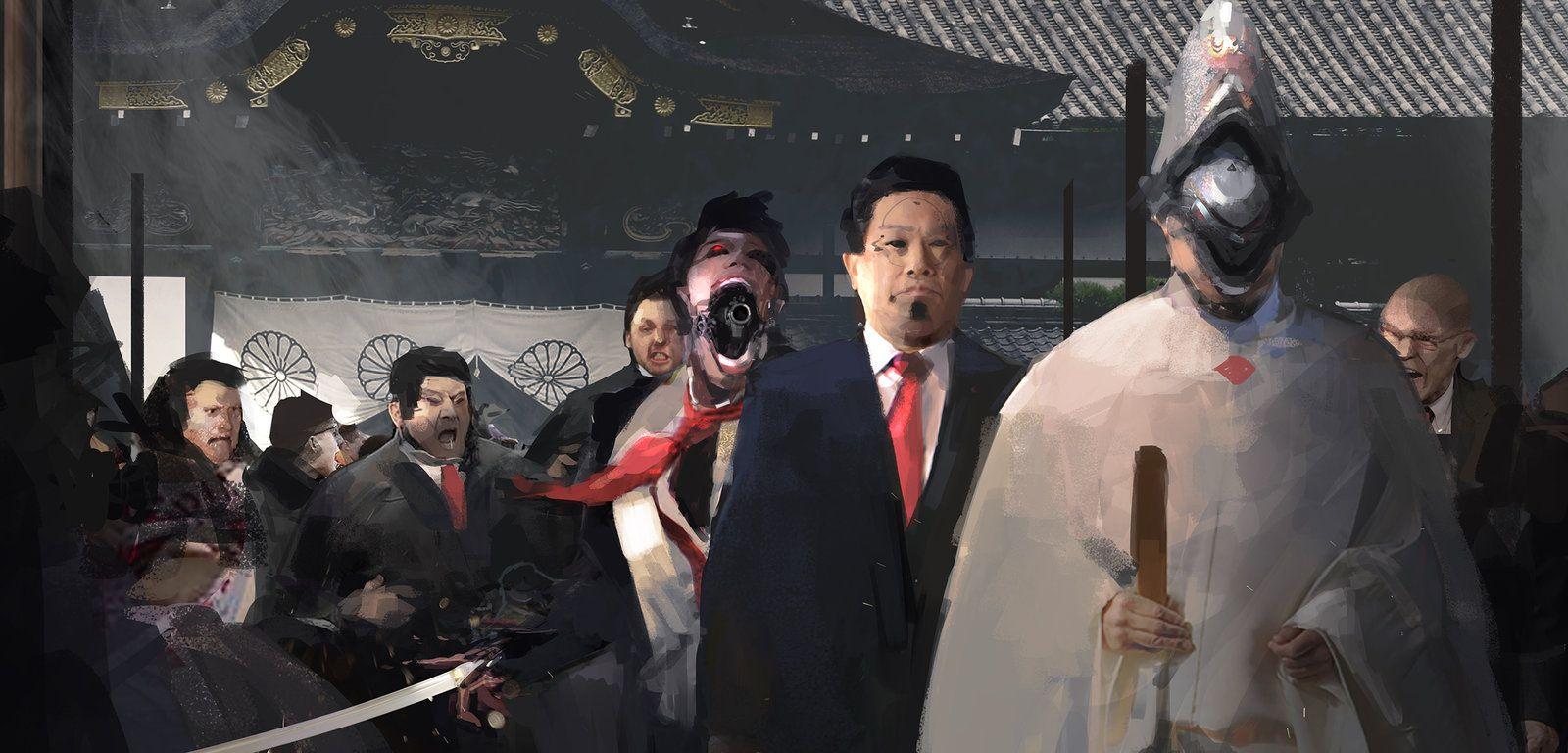assassination, Zhengyi Wang on ArtStation at https://www.artstation.com/artwork/n0kr6