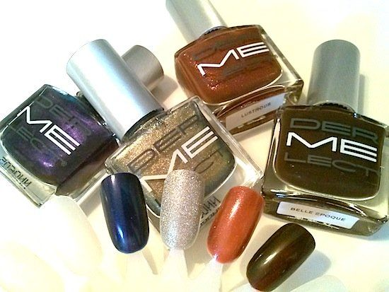 NAIL POLISH TRENDS: 9 Best Metallic, Gel, Polishes and Stickers For Fall/Winter - See Photos/Swatches here>