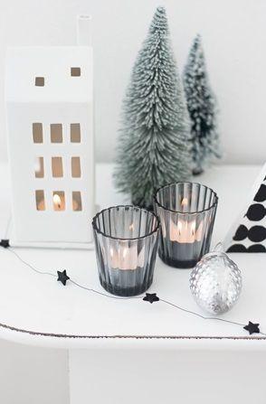 Skandinavische weihnachtsdeko weihnachten dekoration for Wohnung dekorieren winter