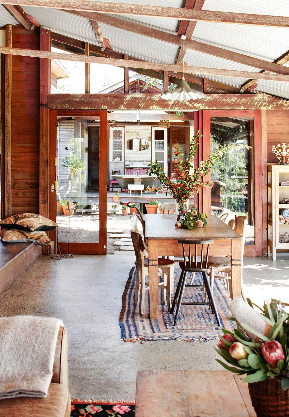 A Cow Shed Conversion In Queensland Cow shed, Australian