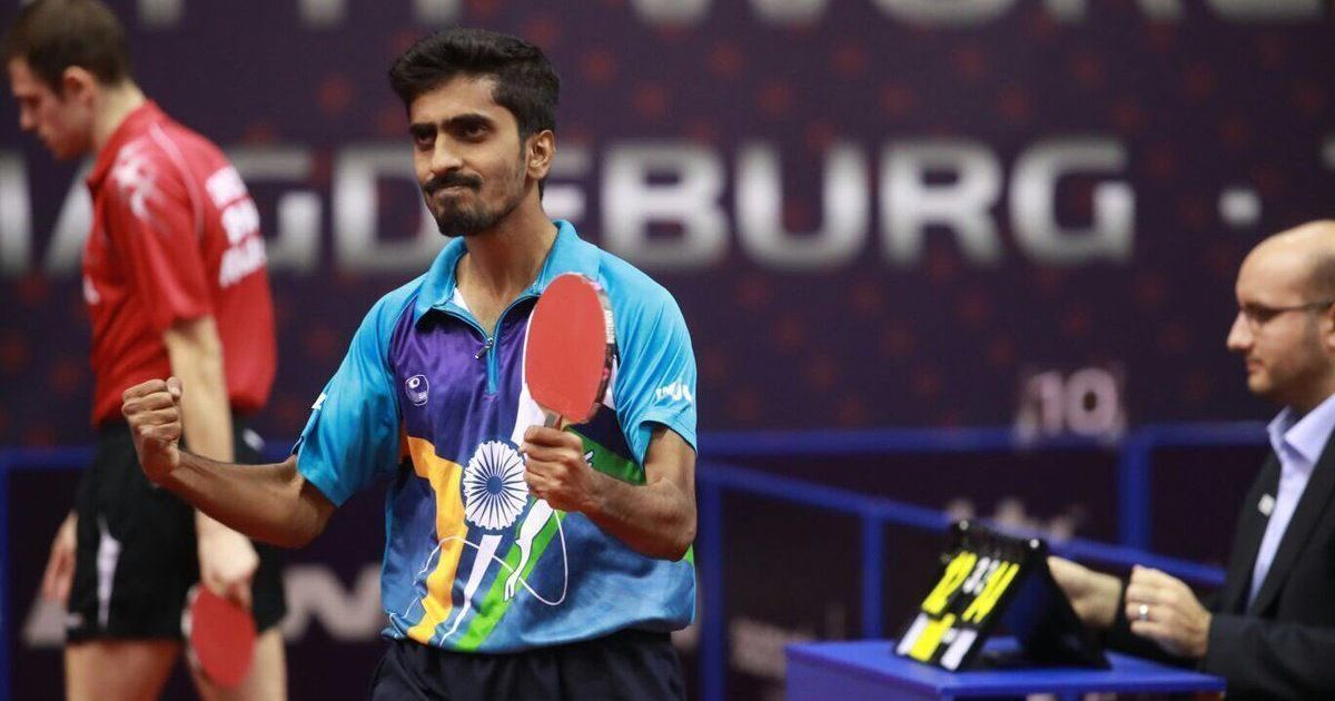G Sathiyan Becomes First Indian Table Tennis Player To Break Into Top 25 Of Ittf Rankings Table Tennis Player Tennis Players Table Tennis