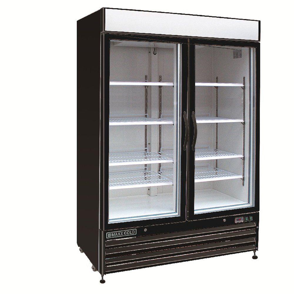 Maxx Cold Mxm2 48rbx Two 2 Glass Door Upright Merchandiser