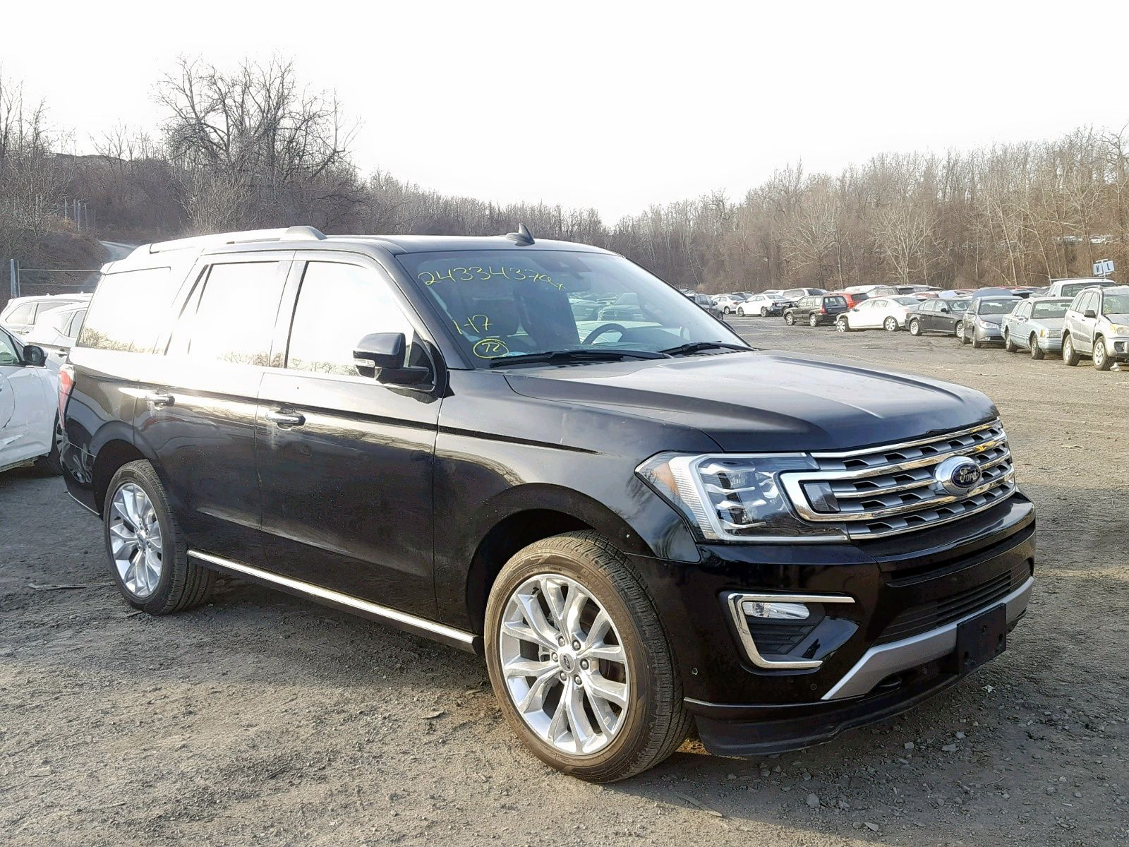 Salvage 2018 Ford Expedition Limited Ford Expedition Ford