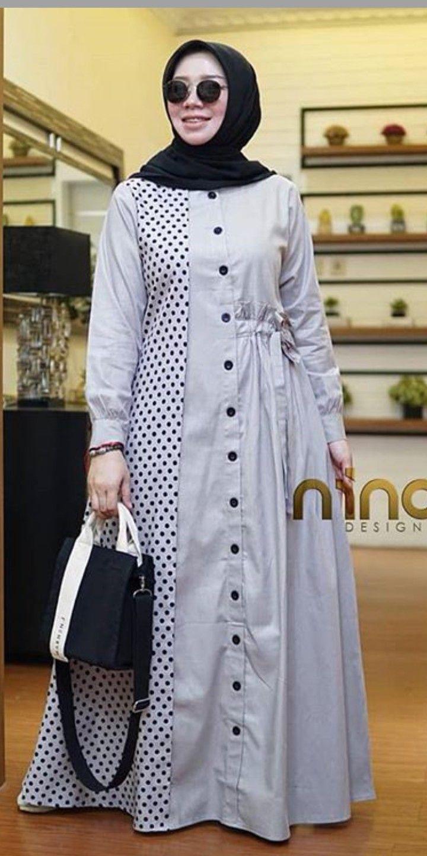 Nino desigh di 10  Model pakaian muslim, Model pakaian hijab