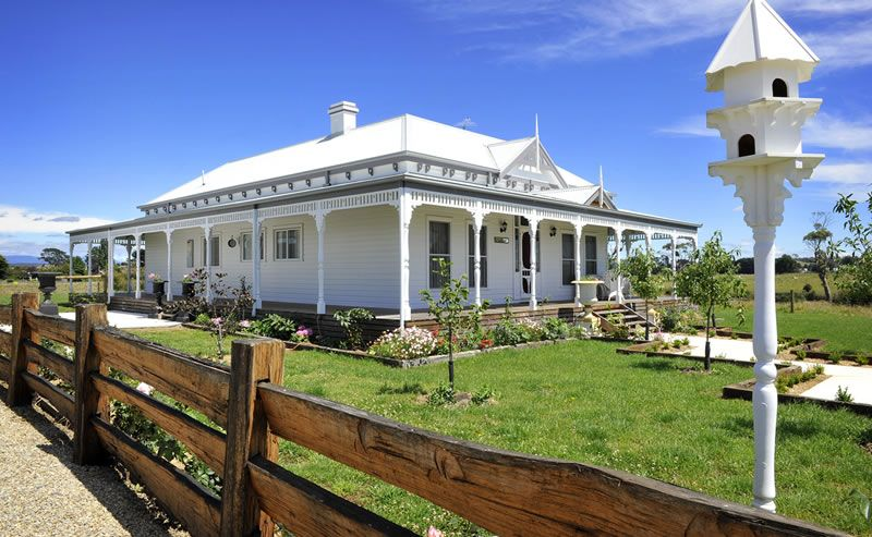 Australian colonial australian victorian homes for Victorian style kit homes