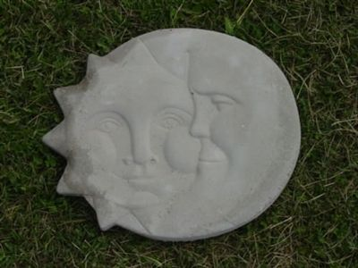 """Frog stepping stone mold plaster concrete casting mould 11/"""" x 10/"""" x 3//4/"""" thick"""