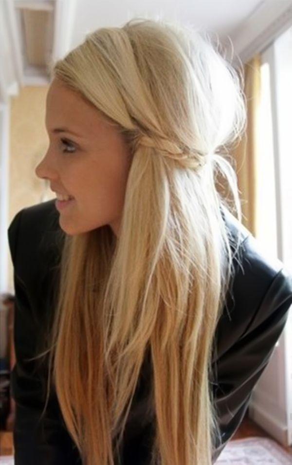Leichte Frisuren Fur Lange Haare Frisuren Frisuren Langhaar Lange Haare Madchen