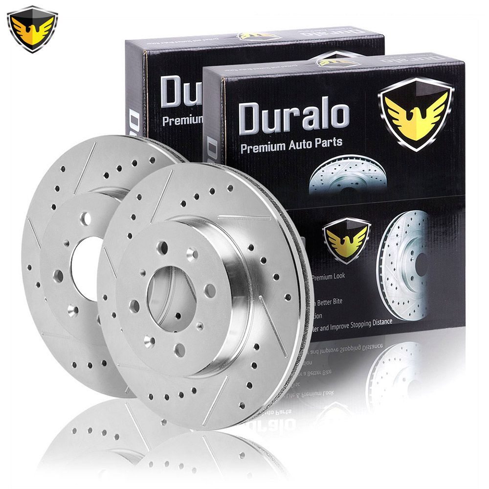 Front Premium OE Brake Disc Rotors Pair Set 1998 TOYOTA TACOMA