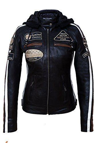 Veste de moto pour femme
