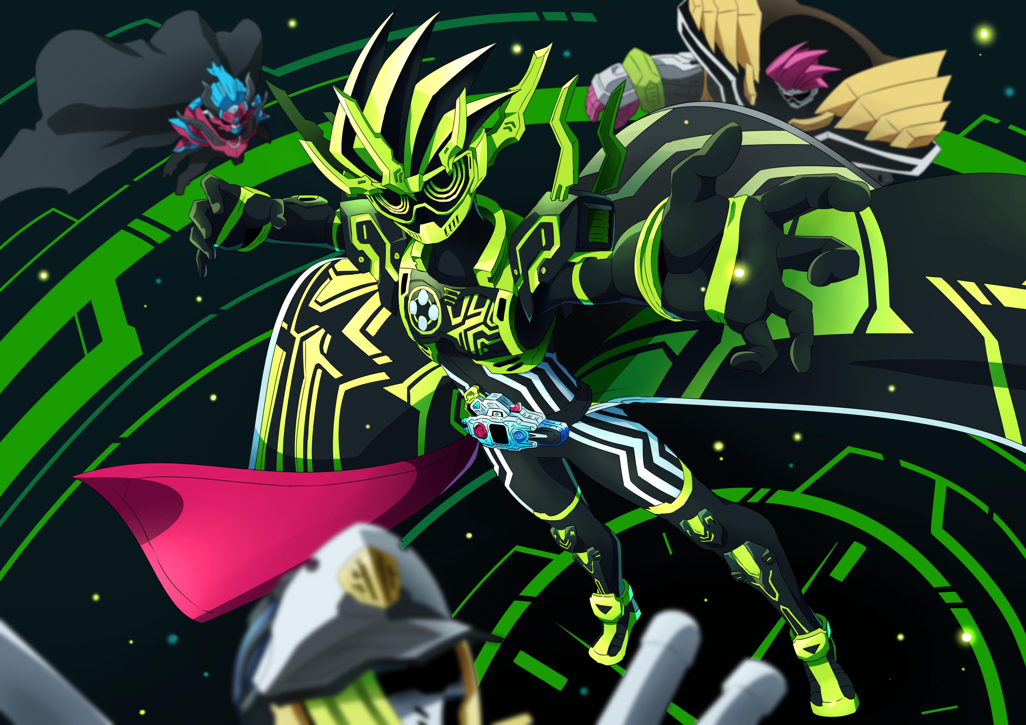 Pin oleh Leon di Kamen Rider Ex Aid