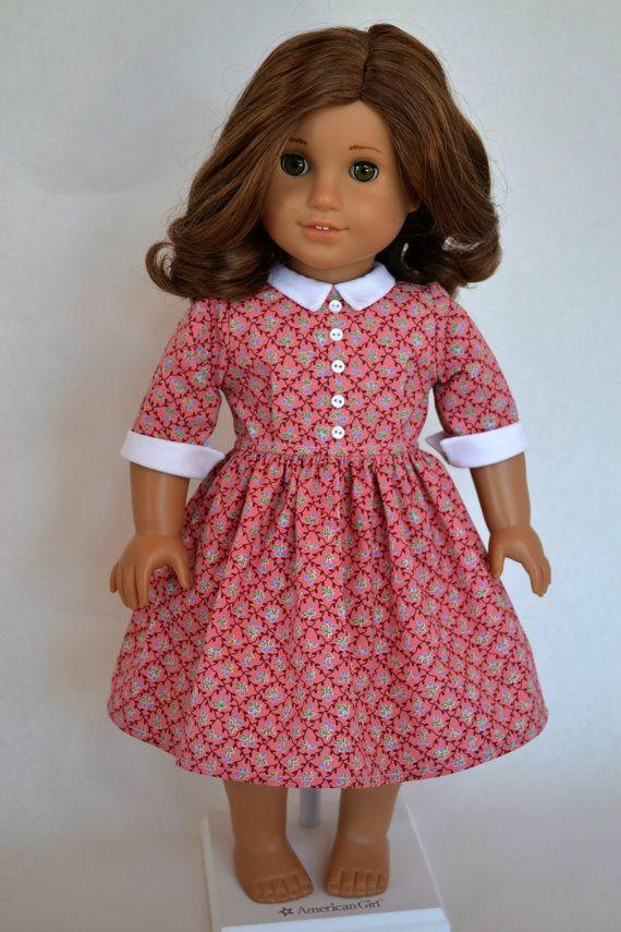 American Girl 18 Inch Doll Dress 1950\'s by JennyWrensDre… | American ...