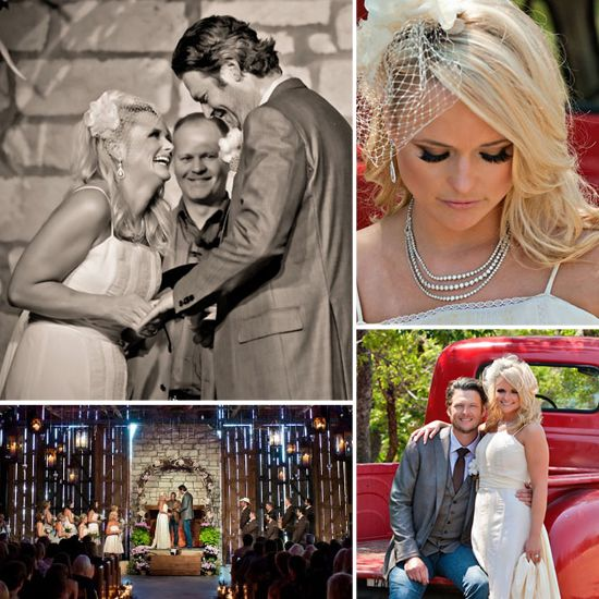 Bridal Friday Link Time Miranda Lambert And Blake Shelton S Wedding Album Miranda Lambert Wedding Blake Shelton Wedding Miranda Lambert