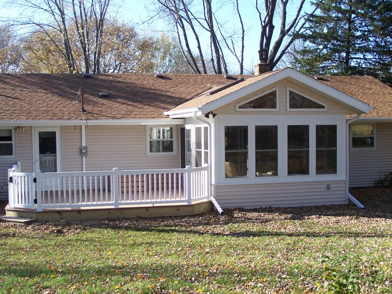 Three season four season sunrooms patios hometown - Sun garden manufactured home community ...