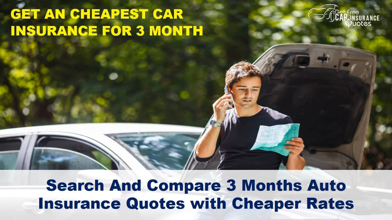 Get 3 Months Car Insurance Cover Buy 3 Month Auto Insurance