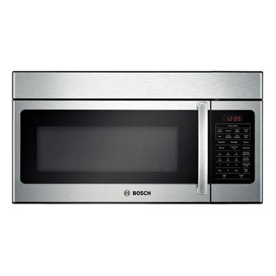 Bosch Stainless Steel Microwave 30 Wide X 15 High X 16 5 Deep Range Microwave Built In Microwave Stainless Steel Microwave
