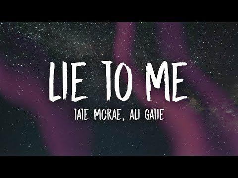 lie to me lyrics by Kelli Ann Ladik