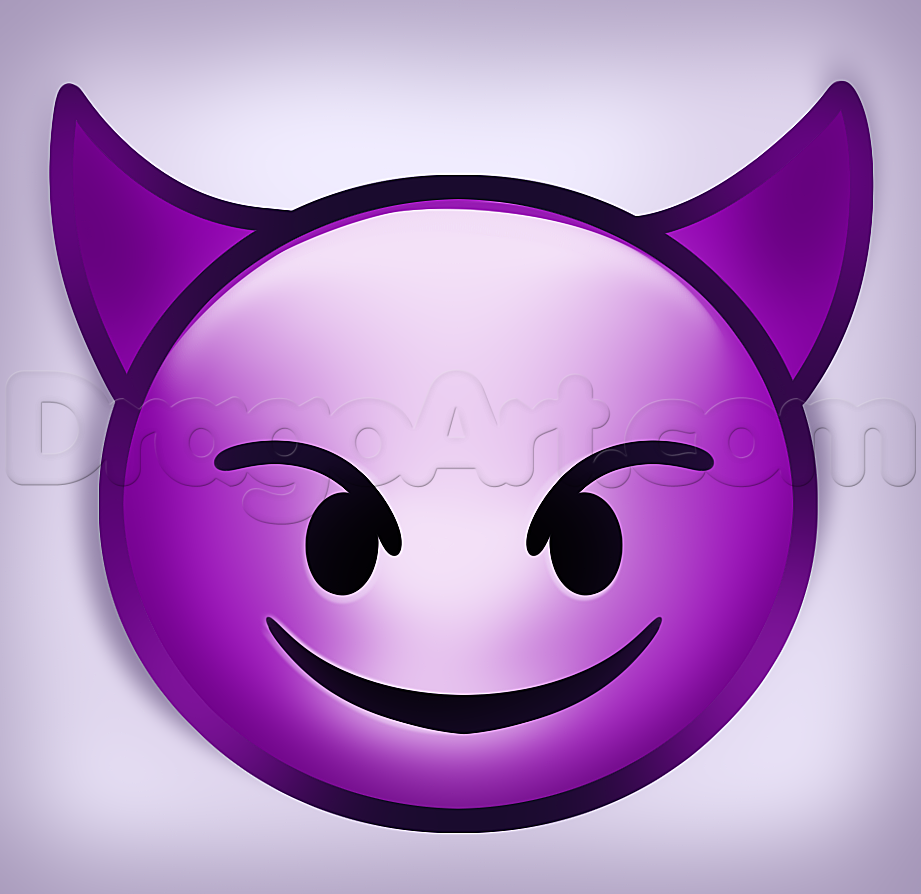 How to draw devil emoji how to draw emoji pinterest emoji how to draw devil emoji buycottarizona Images
