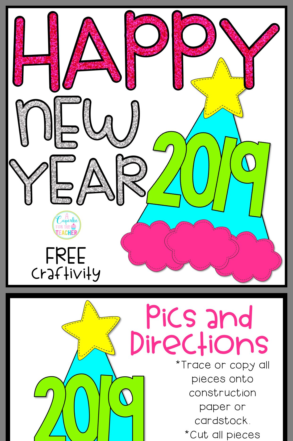 Pin By Cindy Pratt On Pre K New Years Winter Crafts