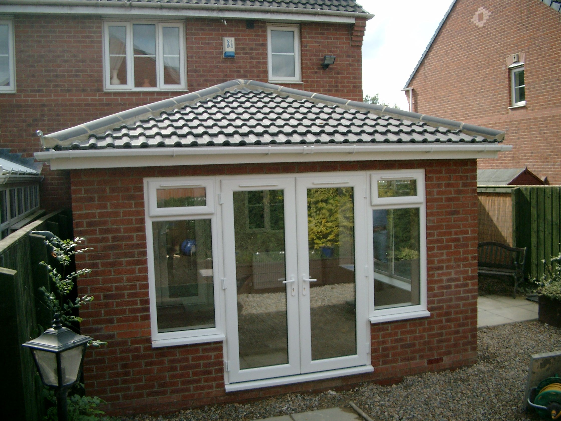 Photos Of Our Work Contact Us For A Free No Obligation Quote Sales Nationalwindowsystems Co Uk Or 01325 38 French Doors Patio Garden Room Front Porch Design
