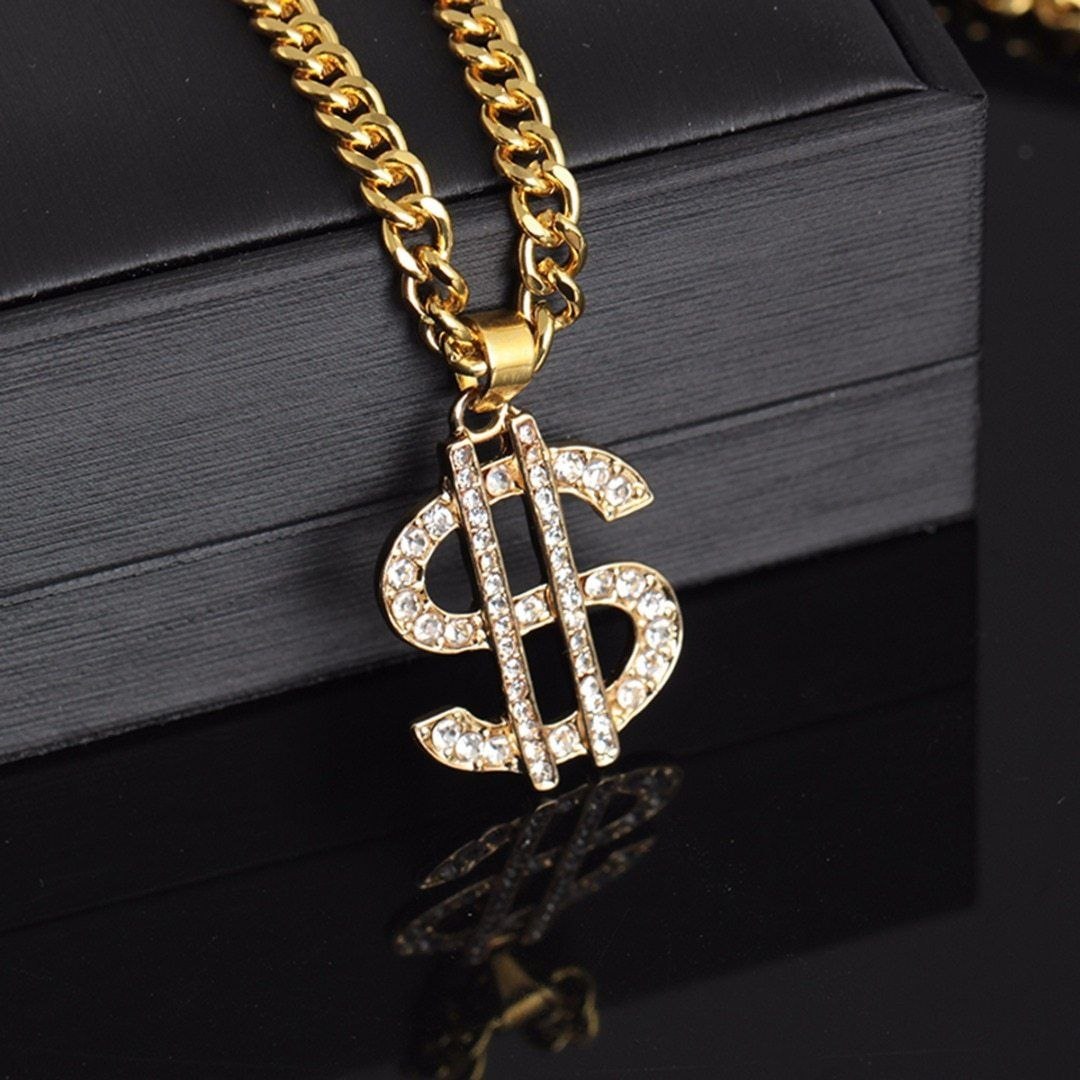 Us Dollar In 2021 Women Accessories Necklaces Gold Chains For Men Hip Hop Jewelry