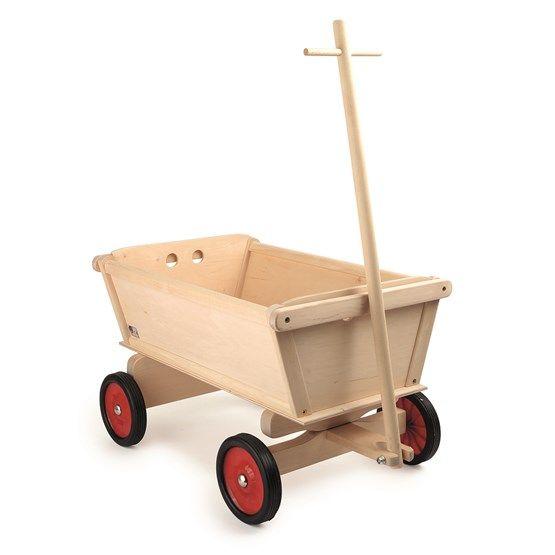 Legler - Skrinda - Nature Hand Cart For Children - Litenleker.se