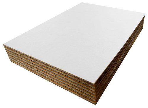 A5 A4 A3 A2 A1 A0 White Cardboard Corrugated Sheets Pad Divider Art Craft Board