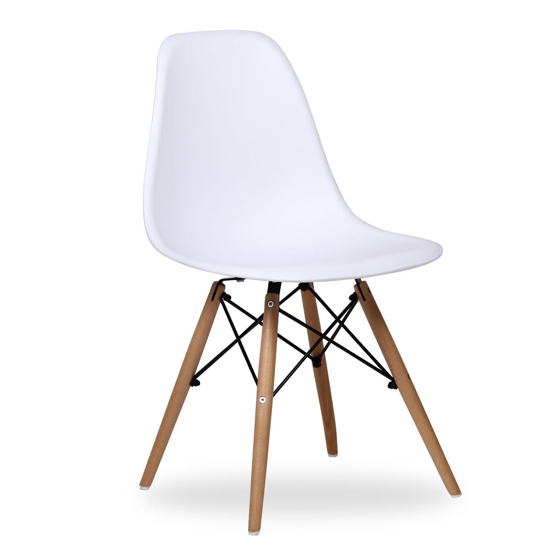 Silla Wooden Color Edition Chaise Chaise Scandinave Et Eames