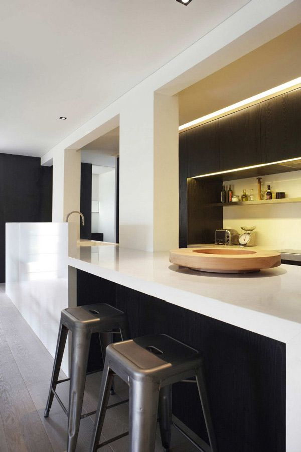 Großraumgestaltungen für Wohnzimmer in Singapur Moderne küche - moderne deckenleuchten fur wohnzimmer