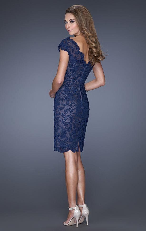 Perfecto Vestido De Fiesta Azul Atractiva Ilustración - Ideas de ...