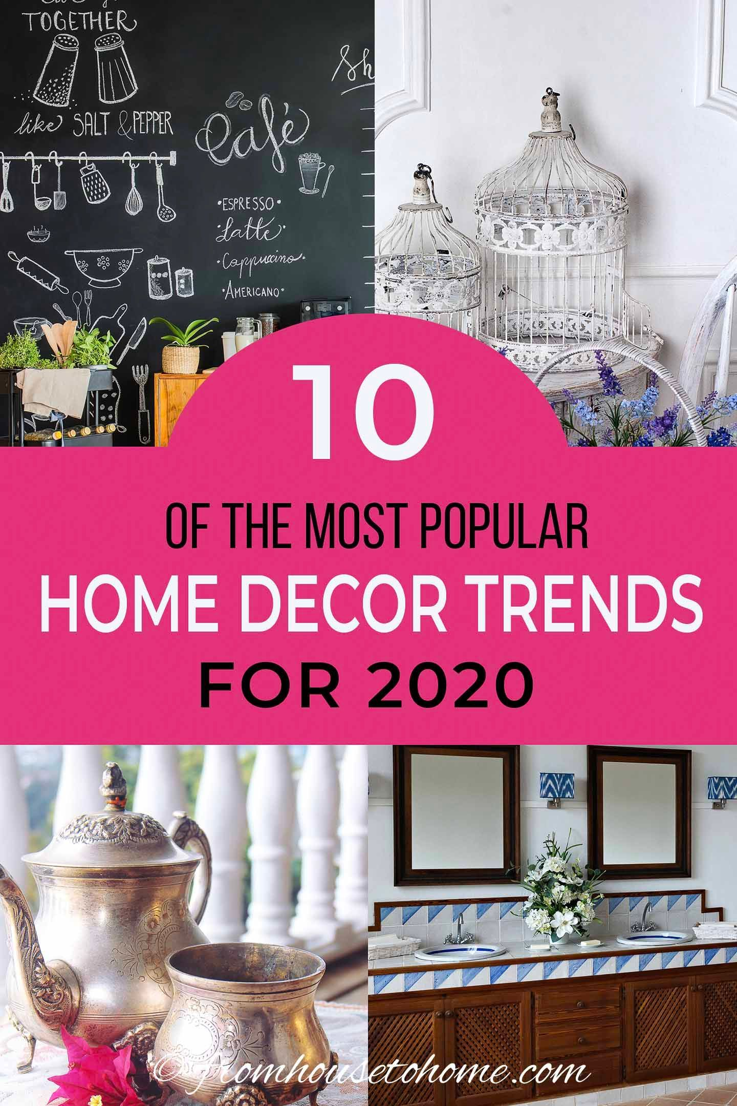The Most Popular 2020 Interior Design Trends (according to ...