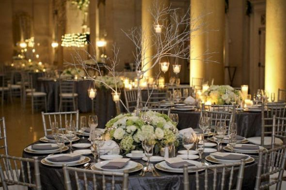 Pink Grey Wedding Decor Suggestions Weddingbee