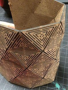 hexagonal stacking boxes Google Search | Repisas de vidrio