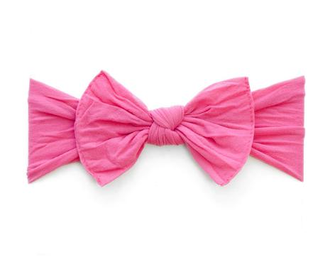Knot Headband- Hot Pink